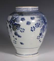 Blue And White Vase Japanese Arita Blue And White Vase L17thc Chris Sheffield Ltd