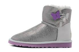 ugg boots canada sale ugg australia mini bailey button lizard 1002678 boots silver