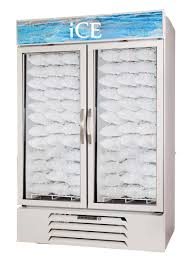 commercial refrigerator freezer upright glass internal