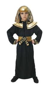 Egyptian Halloween Costumes Girls Egyptian Pharoah Robe Kids Costume 7 9 Amazon Uk