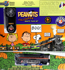 lionel o 6 30214 peanuts halloween freight lionchief remote train