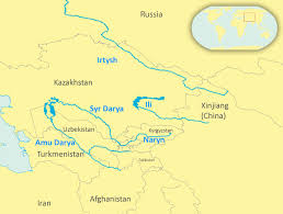 rivers in china map rivers threatened as china kazakhstan water pact remains elusive