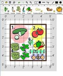 salad garden in 4x4 raised bed each square foot is planted with