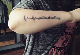 heartbeat tattoo with infinity 160 emotional lifeline tattoo that will speak directly to your soul