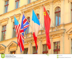 Ww2 Allied Flags Allies Of World War Ii Stock Image Image Of Great World 32776723