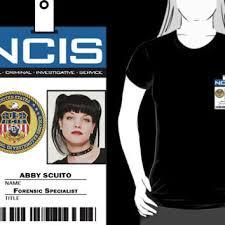 Abby Ncis Halloween Costume Abby Sciuto Ncis Id Badge Shirt Redbubble Quick Costumes