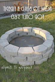 Easy Firepit Amazing Easy Backyard Pit Designs 1 Best 25 Cheap Pit
