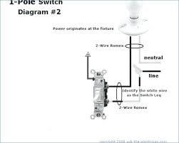 single pole wiring diagram nrg4cast