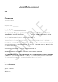 Notice On Termination Of Employment by Hrguide Sample Job Offer Letter