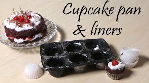 miniature cupcake pan cupcake liners polymer clay tutorial