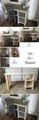 check out the tutorial how to build an easy diy home office desk