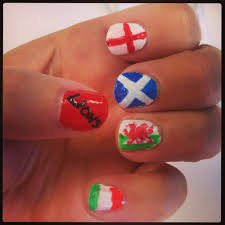 british u0026 irish lions nail art rugby pinterest