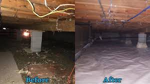 crawl space encapsulation in ithaca syracuse binghamton