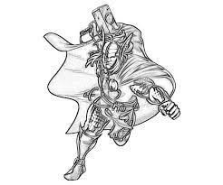 cartoon printable marvel coloring pages thor coloring tone