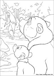 bear 2 coloring picture