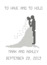 awesome wedding cross stitch patterns free to print photos styles