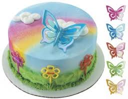 butterfly cake toppers cake decorating kits toppers butterflies iridescent