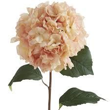 pink hydrangea faux blush hydrangea stem pier 1 imports