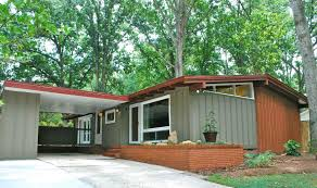 painting mid century modern home exterior paint colors front