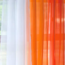 Sheer Curtains Orange Orange Sheer Curtains Walmart Target Hixathens