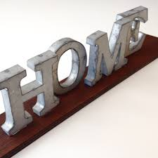 metal letters home decor home decor collections shanhe