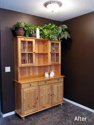 Pine Corner Hutch Modest Homespun Creations Kitchen Corner Reveal