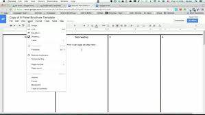 brochure templates docs docs tri fold brochure template bbapowers info
