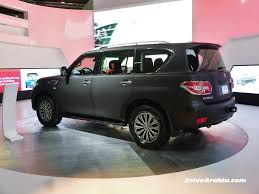 nissan patrol 2016 platinum interior car picker black nissan patrol