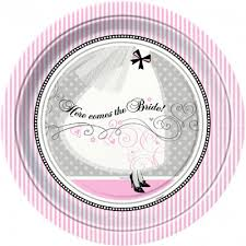 bridal shower plate wedding special events party supply store in ak