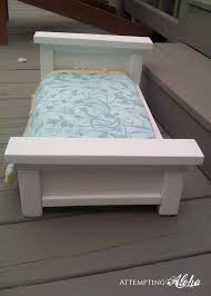 attempting aloha american girls farmhouse doll bed cheater