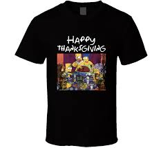 simpsons happy thanksgiving rockwell portrait episode t shirt