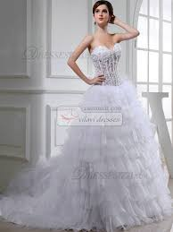 ball gown organza sweetheart beading wedding dresses