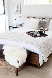 Mongolian Lamb Cushion His And Hers Bedroom Registry Picks Crate And Barrel Blog