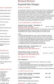 Marketing Manager Resume Sample by Regional Marketing Manager Resume