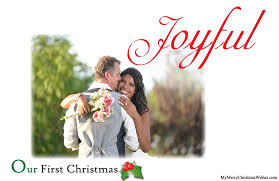 newlywed cards just married christmas cards for newlywed couples photos