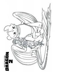 bild train dragon hiccup toothless coloring