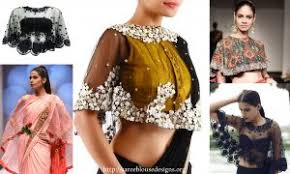 cape designs cape your way out of traditional saree style saree blouse designs