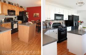 cheap kitchen makeover ideas before and after kitchen makeovers before and after pthyd