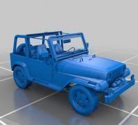 93 jeep wrangler jeep wrangler 3d models to print yeggi