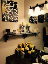 themed bathroom ideas grey and yellow bathroom ideas