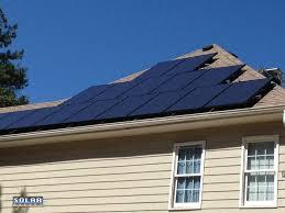 install solar residential solar install study 17 panel solar pv array in