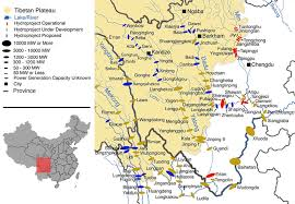 rivers in china map china s great dam boom an assault on its river systems central