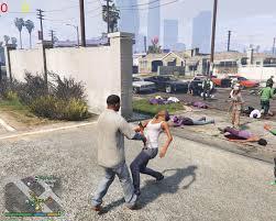 gta 5 street fight wallpapers gang war reloaded war combat mod gta5 mods com