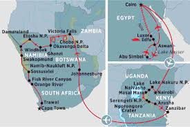Kalahari Desert Map Grand Africa Cairo To Cape Town South Africa Tours Peregrine