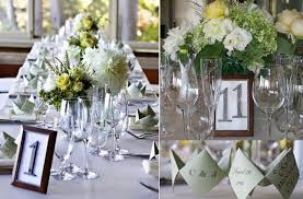 wedding reception table numbers diy wedding projects