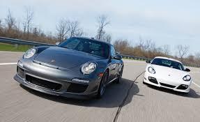 porsche cayman comparison porsche cayman r porsche 911 gt3 mid engine vs rear engine
