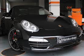 Porsche Boxster Black Edition - porsche u2013 hamilton grays