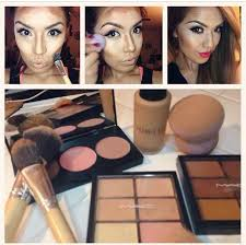 never thought to use the mac concealer palletes for contouring mac contouring and highlighting