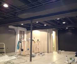 Paint Ideas For Basement Diy Decor Industrial Basement Remodel