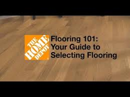 hardwood floor vs laminate floor flooring 101 your guide to selecting flooring the home depot